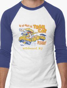 Watch the Tram Car Please! Men's Baseball ¾ T-Shirt