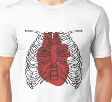 Heart in the cage Unisex T-Shirt