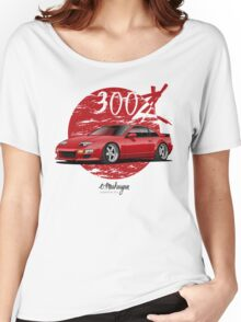 Nissan 300ZX (red) Women's Relaxed Fit T-Shirt