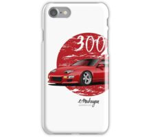 Nissan 300ZX (red) iPhone Case/Skin