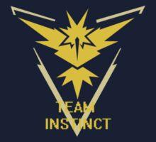 Team Instinct Symbol (Small) One Piece - Short Sleeve