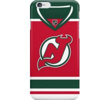 New Jersey Devils Throwback Jersey iPhone Case/Skin