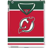 New Jersey Devils Throwback Jersey iPad Case/Skin