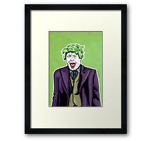 Boris Joker Print Framed Print