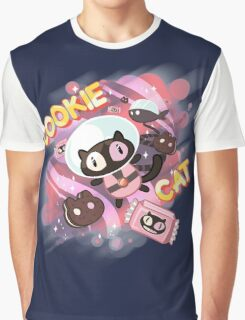 Cookie Cat Graphic T-Shirt