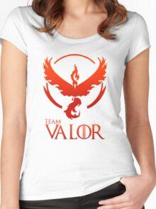Pokemon Go: Team Valor Women's Fitted Scoop T-Shirt
