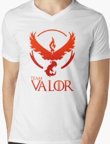 Pokemon Go: Team Valor Mens V-Neck T-Shirt