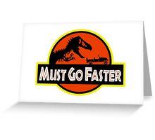 Jurassic Park Jeff Goldblum Line Greeting Card