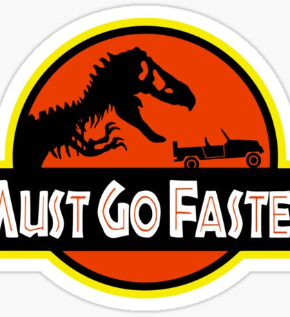 Jurassic Park Jeff Goldblum Line Sticker