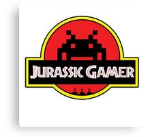 Jurassic Gamer Canvas Print
