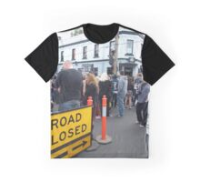 Road Closed Graphic T-Shirt