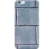 Grey Brickwork Design iPhone Case/Skin