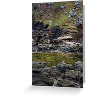 Transference (Green Pool) Greeting Card