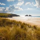 Cornwall - Holywell Sunshine by Michael Breitung