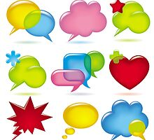 Speak bubbles by maystra