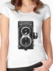 Rolleiflex T Women's Fitted Scoop T-Shirt