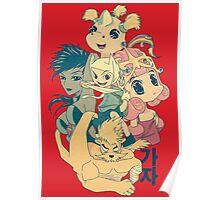 Manga Adventure Time Poster