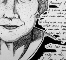 Adrienne Rich - The Stranger Sticker