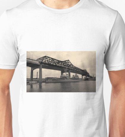 Battleship Cove Panorama Toned Unisex T-Shirt