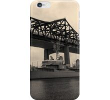Battleship Cove Panorama Toned iPhone Case/Skin