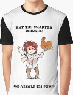 Oitnb Chicken - Red Graphic T-Shirt