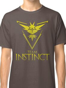 Pokemon Go: Team Instinct  Classic T-Shirt
