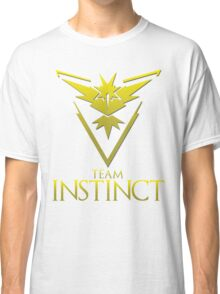 Pokemon Go: Team Instinct  Classic T-Shirt