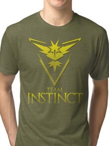 Pokemon Go: Team Instinct  Tri-blend T-Shirt