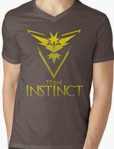 Pokemon Go: Team Instinct  Mens V-Neck T-Shirt