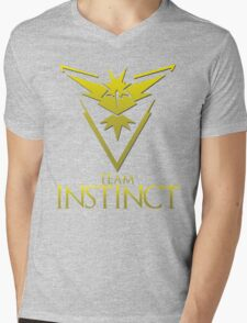 Pokemon Go: Team Instinct  Mens V-Neck T-Shirt