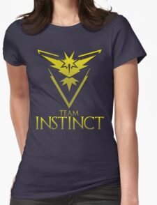Pokemon Go: Team Instinct  Womens Fitted T-Shirt