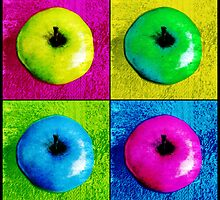 Pop Art Apples by SRowe Art
