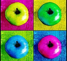 Pop Art Apples by Shawna Rowe