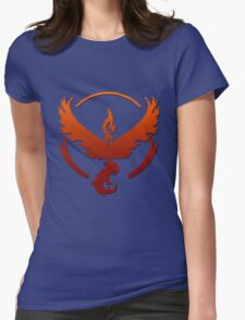 Team Valor Logo Womens Fitted T-Shirt