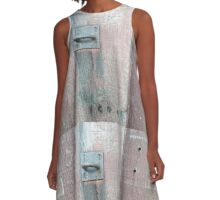 old lock and wood A-Line Dress