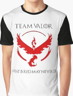 Team Valor Design - Pokemon GO Graphic T-Shirt