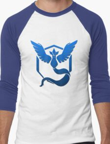 Team Mystic Logo Men's Baseball ¾ T-Shirt