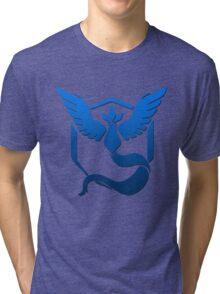 Team Mystic Logo Tri-blend T-Shirt