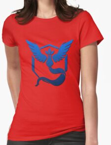 Team Mystic Logo Womens Fitted T-Shirt