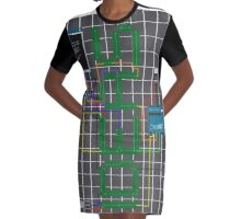 Ideas Graphic T-Shirt Dress