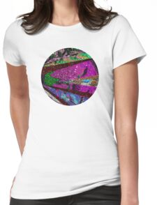 Lavender Moon Womens Fitted T-Shirt