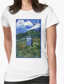 tardis in Rural Womens Fitted T-Shirt