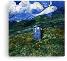 tardis in Rural Canvas Print