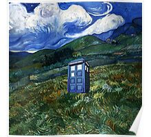 tardis in Rural Poster