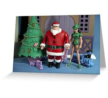 Holiday Stake Out Greeting Card