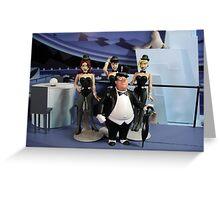 The Penguin's Iceberg Lounge Greeting Card