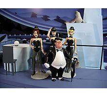 The Penguin's Iceberg Lounge Photographic Print