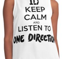 KEEP CALM - ONE DIRECTION Contrast Tank