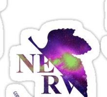 Space Genesis Evangelion || Nerv Logo (Sticker Set) Sticker