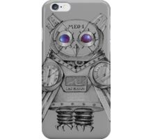 Futuristic Mechanical owl iPhone Case/Skin